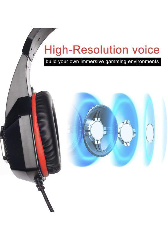 Hyperx Cloud Stinger Gaming Headsets for PS4 MAC Xbox one Mobile HX-HSCS BNIB