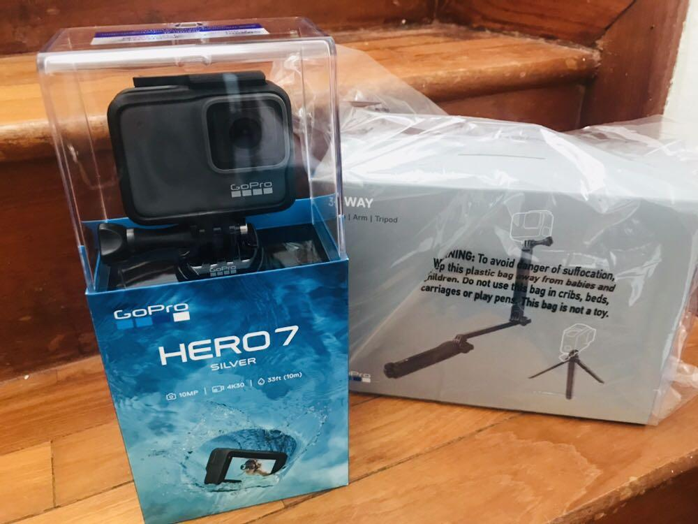 GoPro Hero 7 Sliver Brand New in Box Not Opened, Electronics