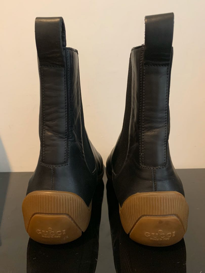 Gucci leather boots women's 37, Women's