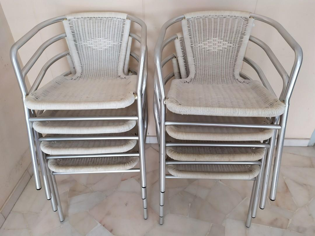 Hardly Used Rattan Chairs