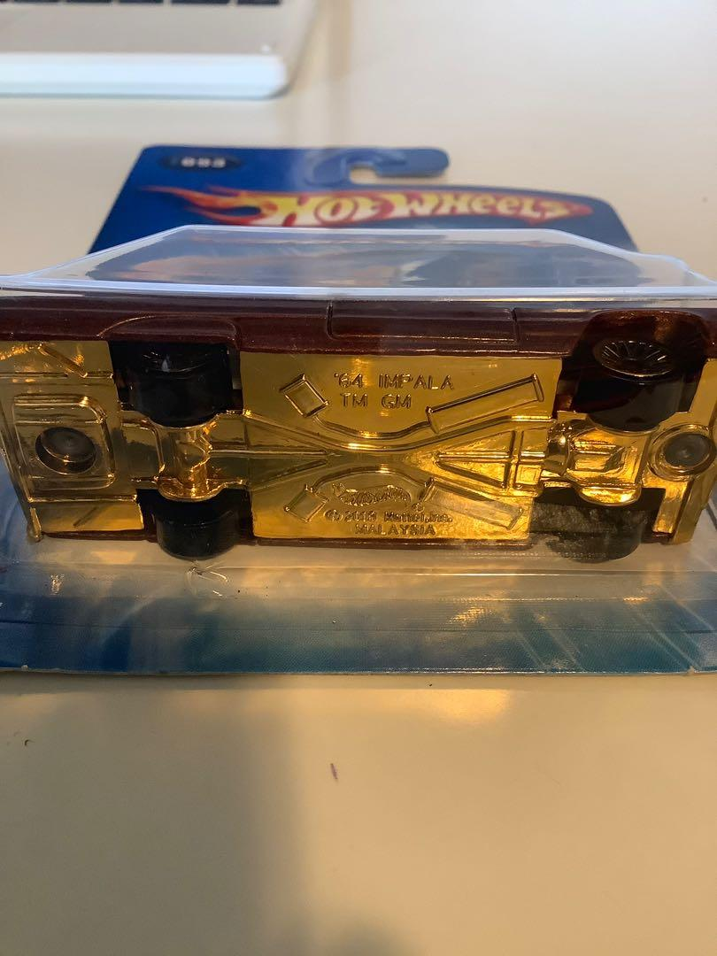 Hot wheels 1964 Chevrolet Chevy impala collectible diecast car