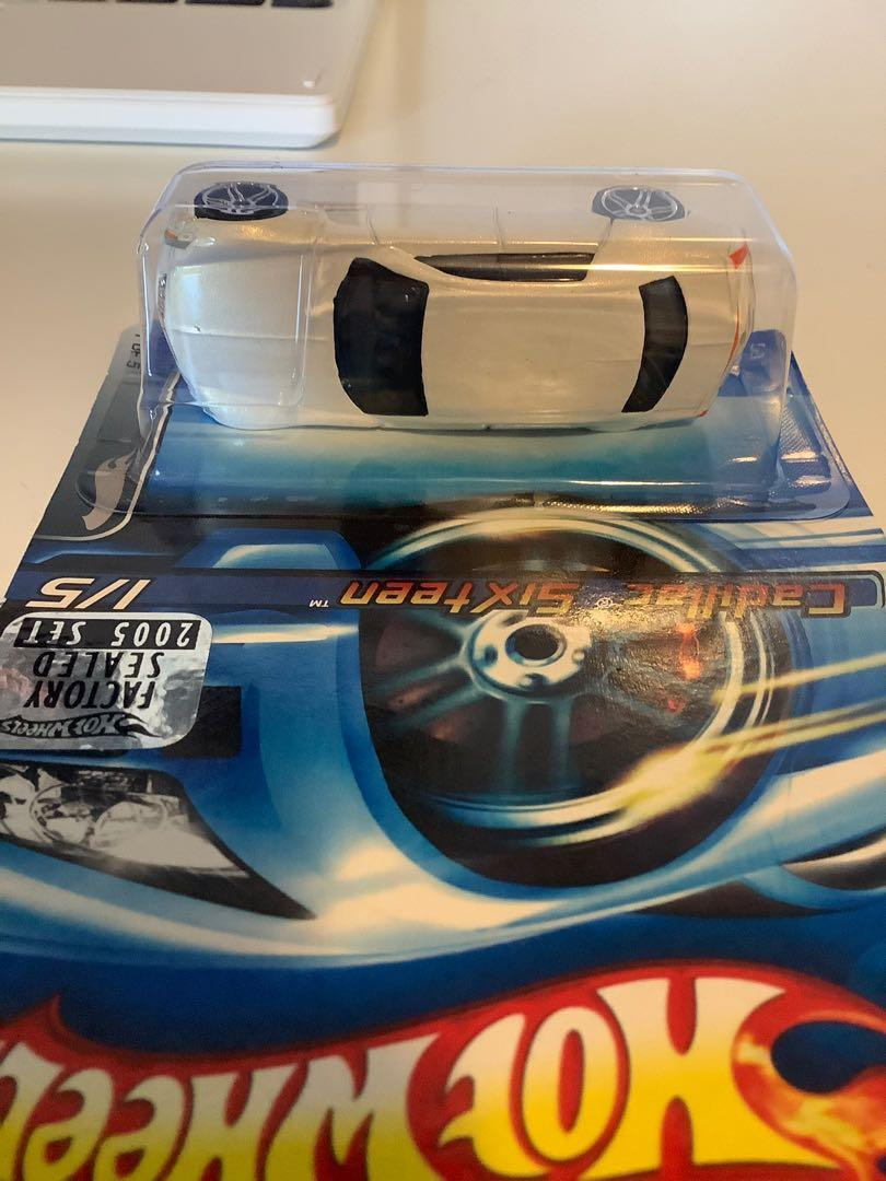 Hot wheels 2004 Cadillac sixteen FACTORY SEALED SET exclusive collectible diecast car