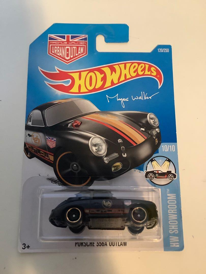Hot wheels 2015 urban outlaw Magnus walker Porsche 356A outlaw collectible diecast car