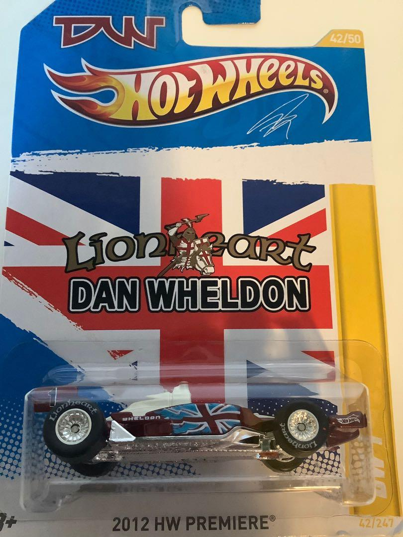 Hot wheels SUPER TREASURE HUNT Lionheart Dan Wheldon DW-1 rare limited edition diecast car