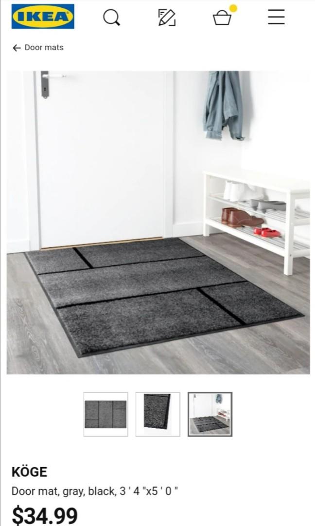 Ikea Koge Floor Mat size 1m x 1 5m