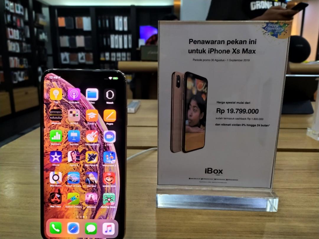 Iphone Xs Max Kredit Di Ibox Botani Mobile Phones Tablets