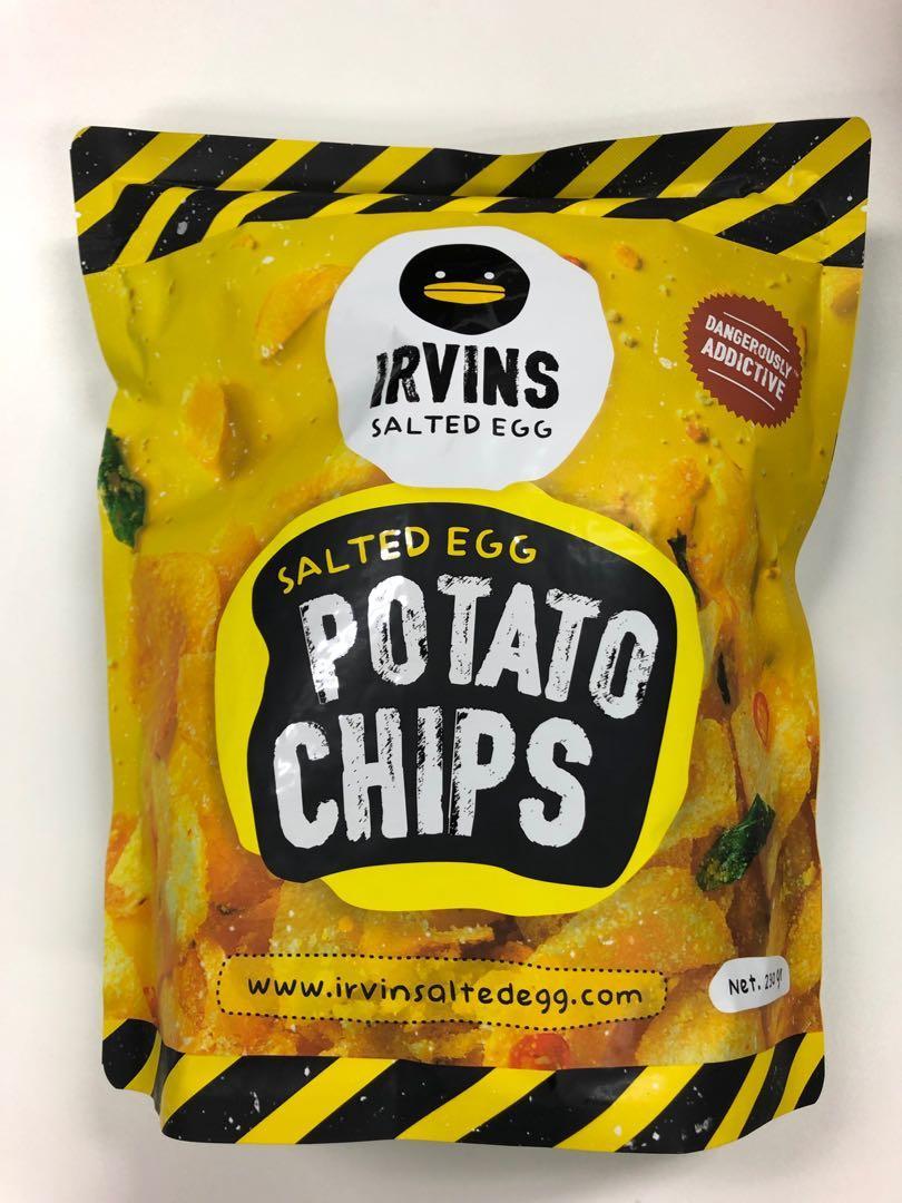 Irvin's Salted Egg Potato Chips