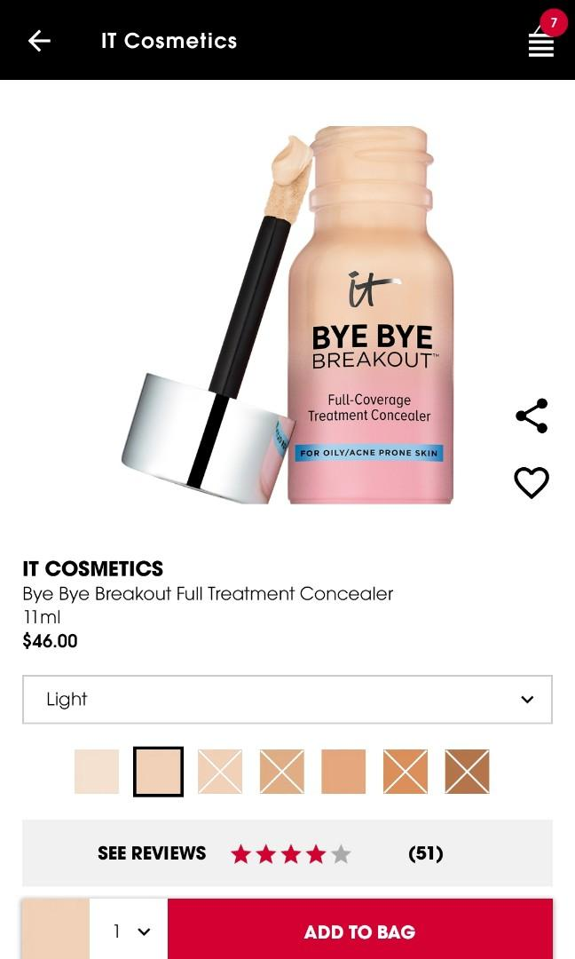 IT Cosmetics Blemish Concealer in Light