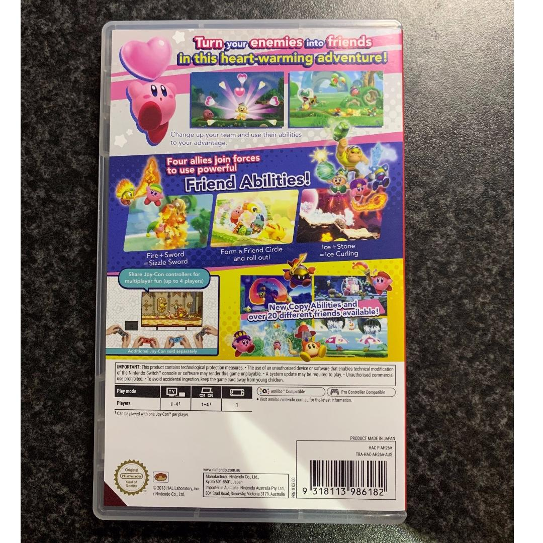 Kirby Star Allies (preowned)