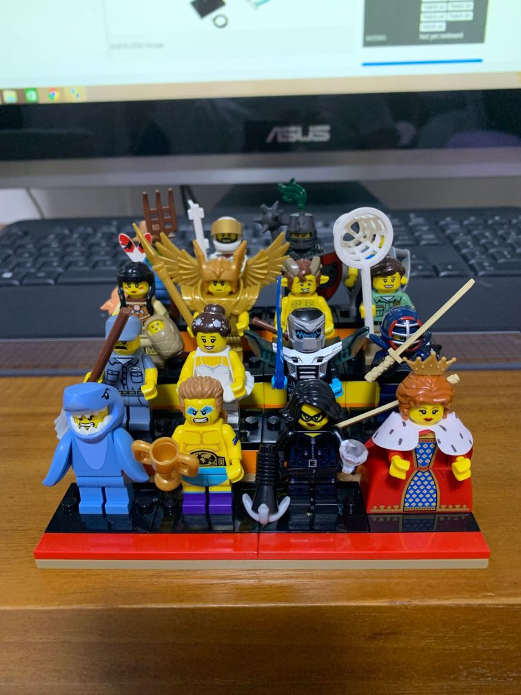 LEGO Minifigures Series 15 Complete Set 16