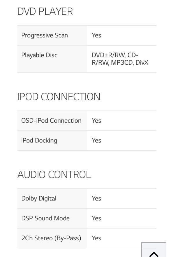 LG FB163  DVD Micro HI-FI w iPod Docking (Discontinued)