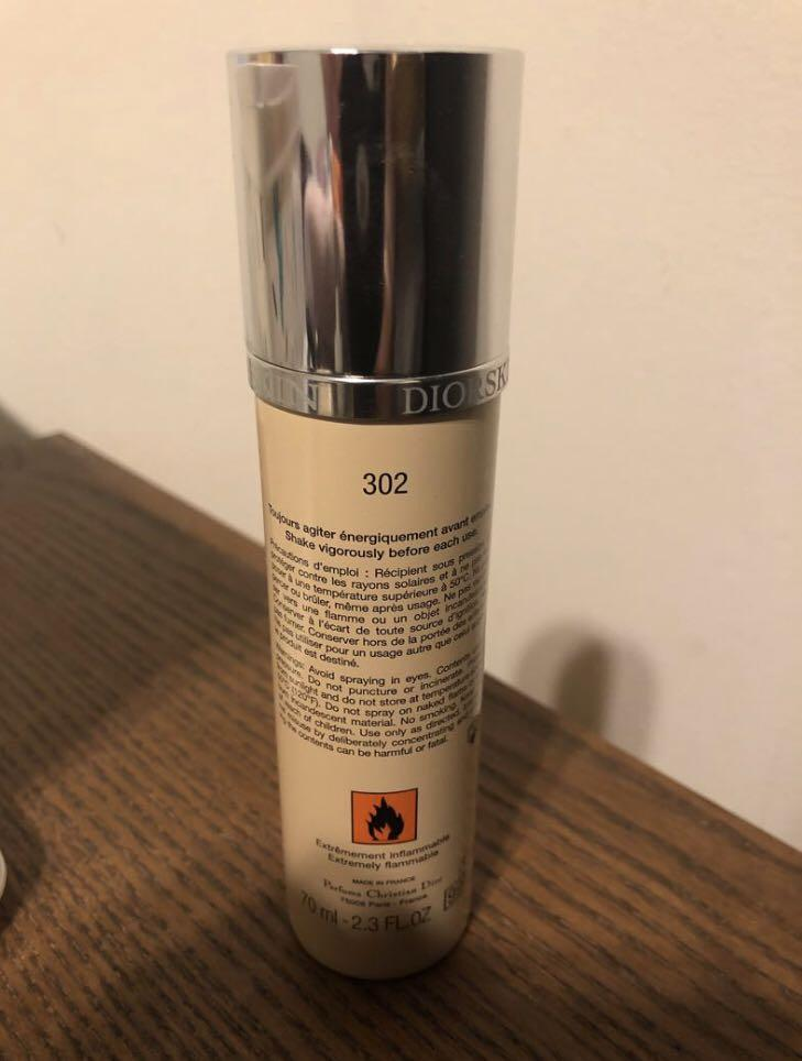 [Limited Time] DIOR BACKSTAGE AIRFLASH FOUNDATION 302