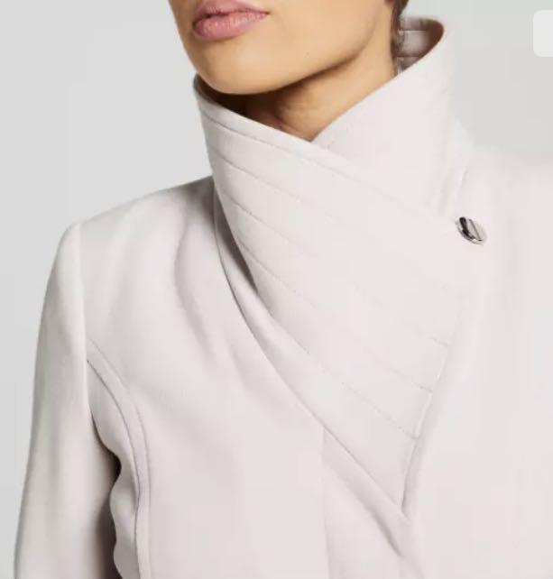 NWT Portmans Women Long Jacket Coat sz 6 8 10 12 14 16 Beige Mushroom