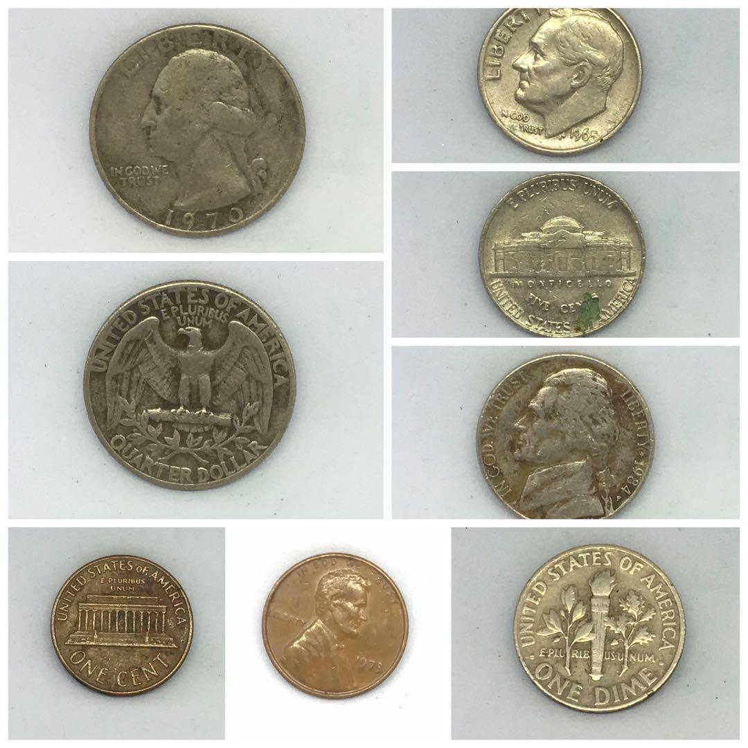 Old Coins Usa Vintage Collectibles