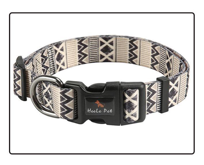 Pet Collar Stylish Colorful Design