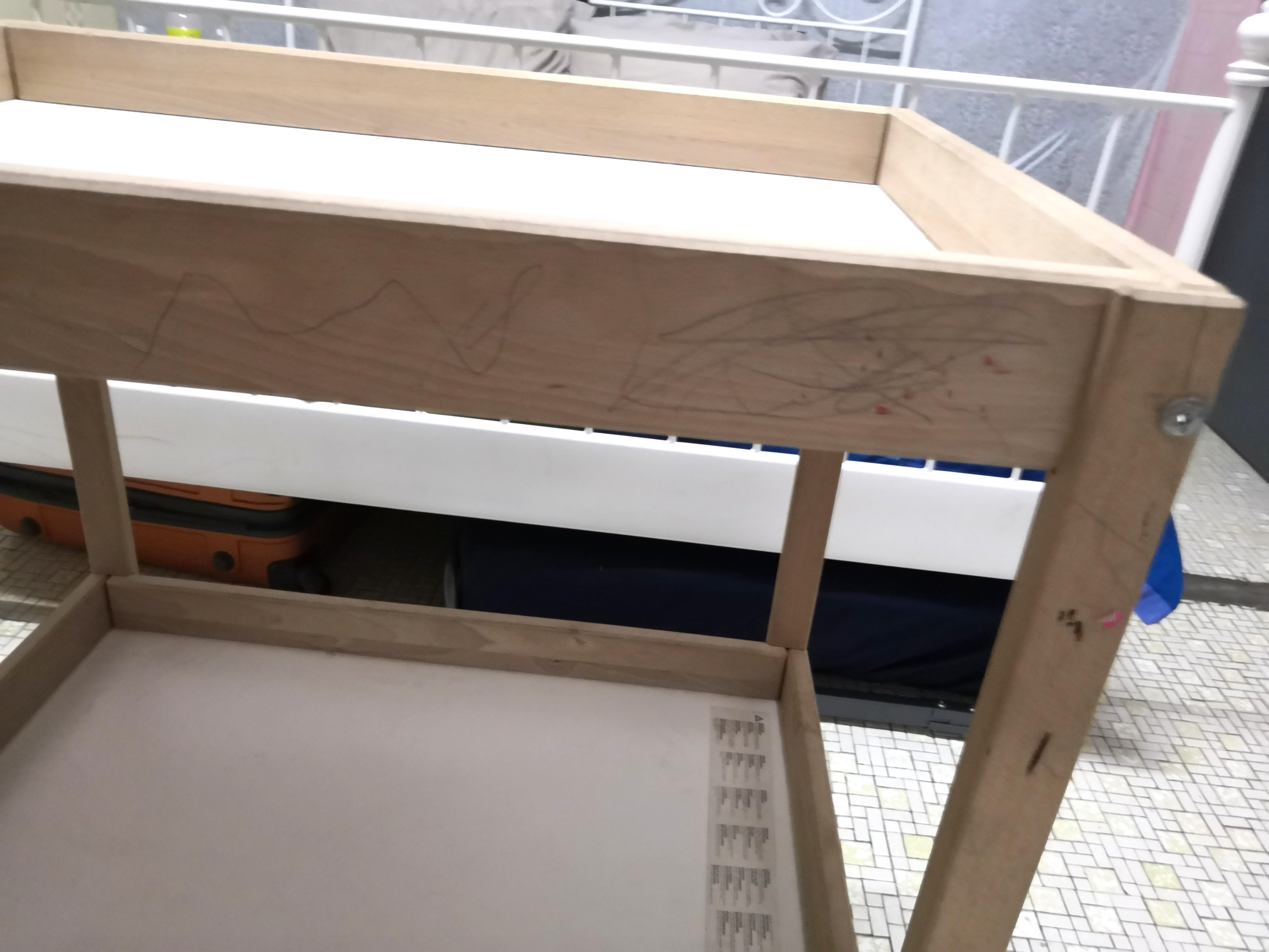Preloved Baby changing table IKEA SNIGLAR