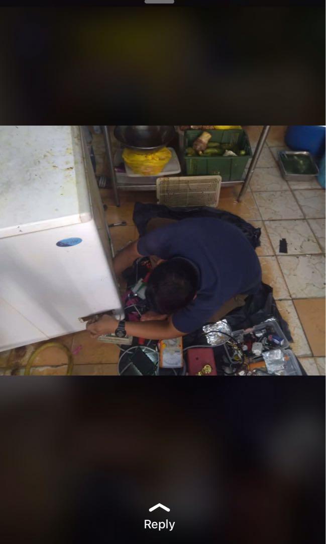 Repair mesin basub peti sejuk
