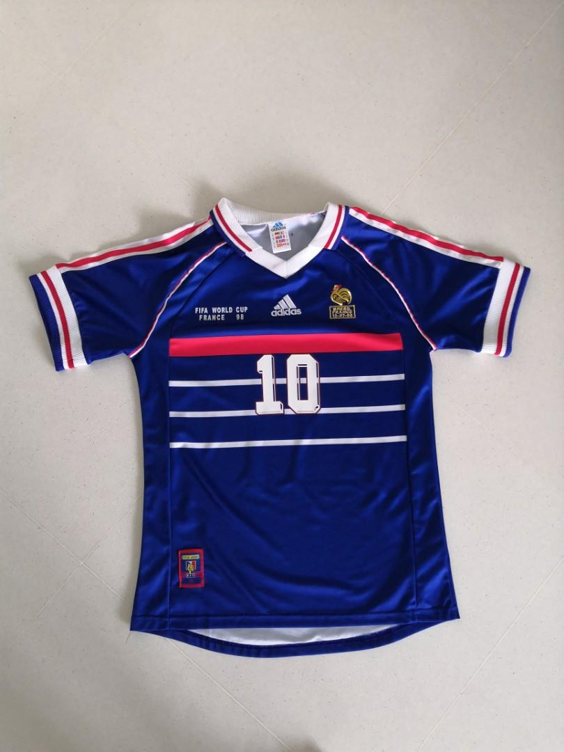 Replica France 98 Zidane Jersey Size M (non negotiable)
