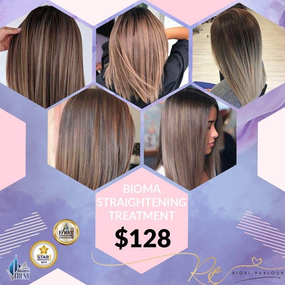 Rigel parlour professional hair makeover