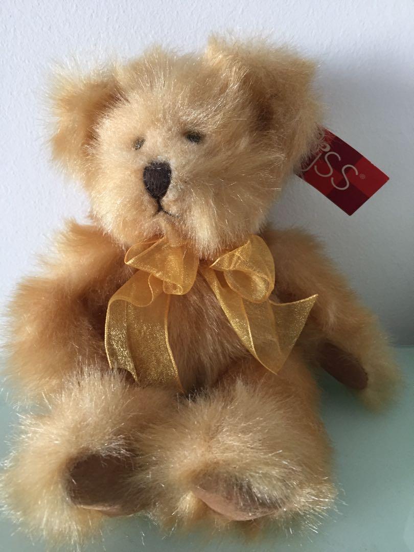 """Russ Berrie Teddy Bear """"Pennington"""" #MRTRaffles"""