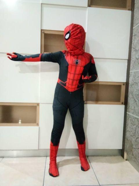 Spider Man Far From Home Peter Parker Spiderman Cosplay (Pre Order)