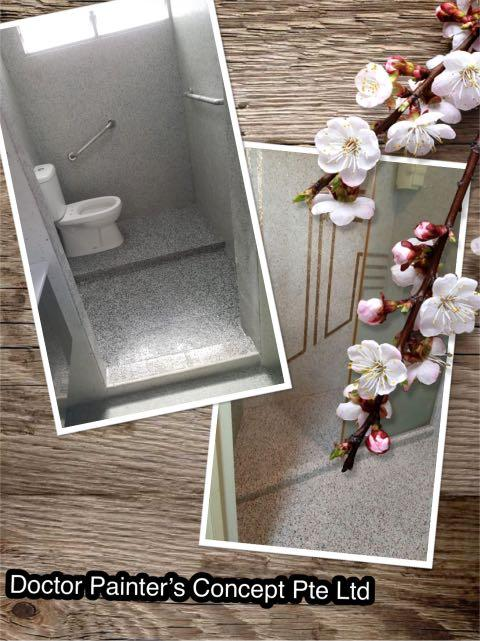 Toilet Makeover Renovations Package @ $1288! 30% discount for Painting Services