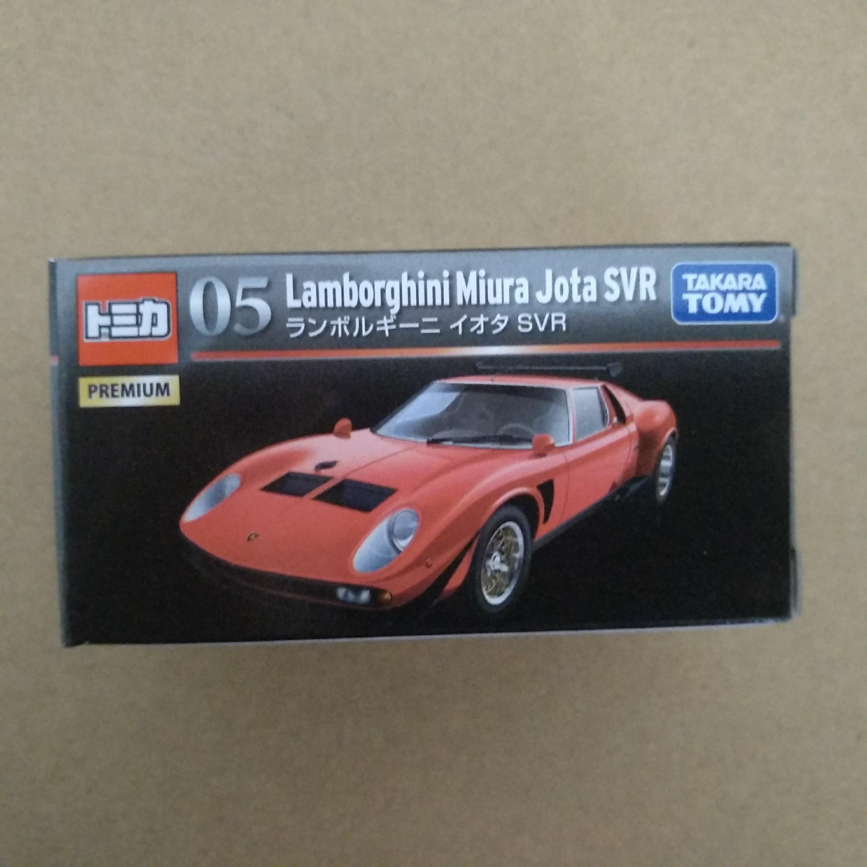Takara Tomy Tomica Premium 05 Lamborghini Miura JOTA IOTA SVR
