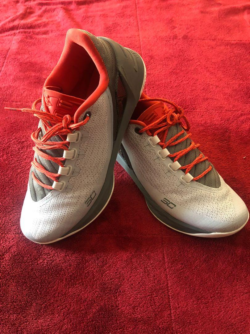 best service 23160 b3e70 Under Armour Curry 3 Low basketball shoes as USA 9, Sports ...