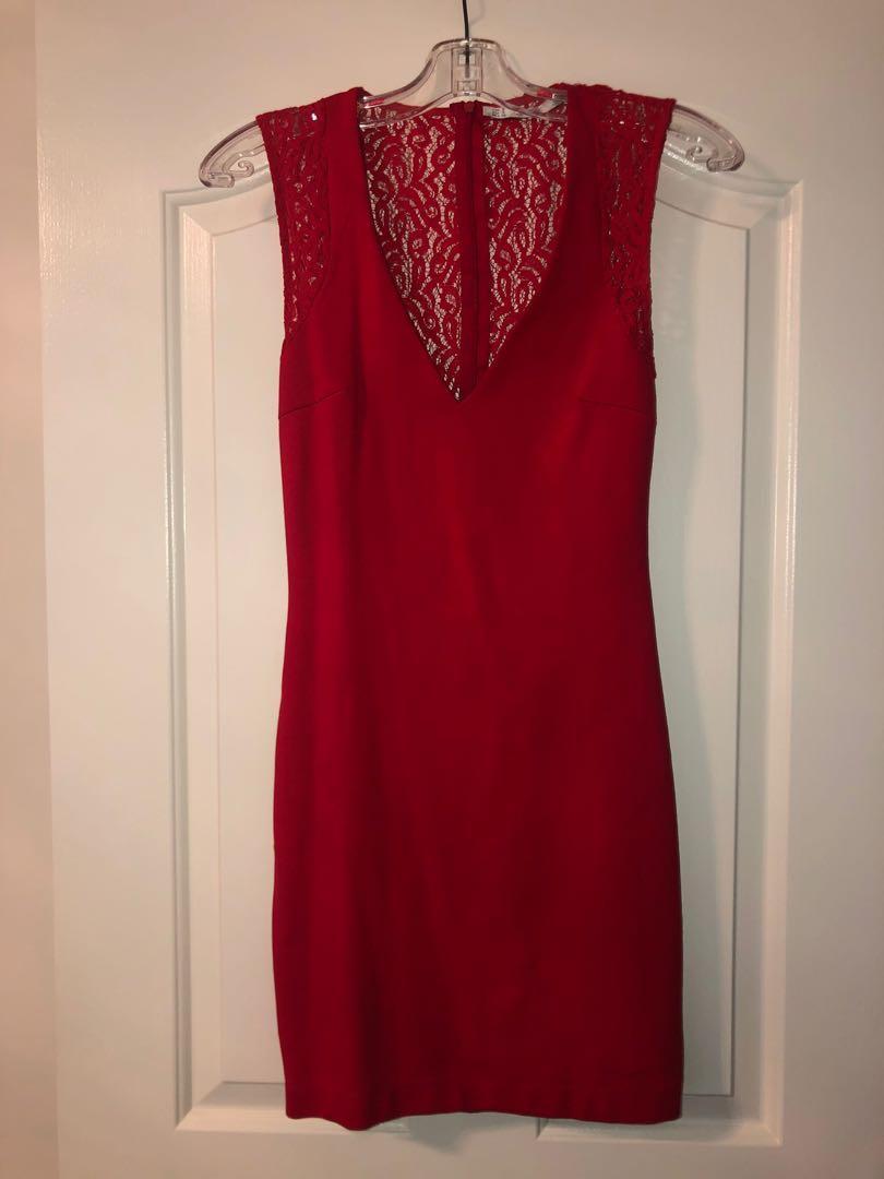 Zara dress with lace back