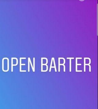 Open barter terima barter barter yuk barteran yuuk barter asal cocok open barter