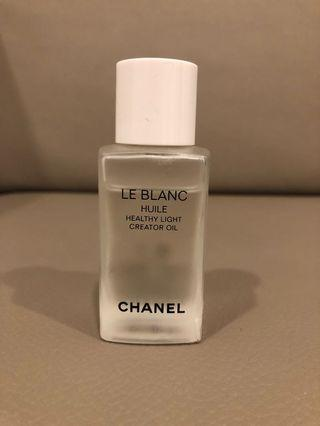 Chanel Le Blanc Huile. Healthy Light Creator Oil 50ml