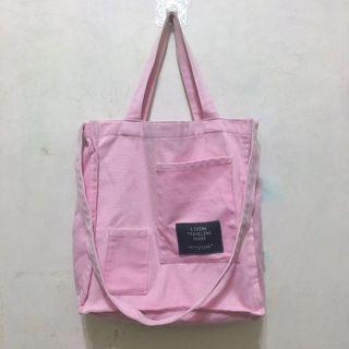 粉紅帆布包🦄💗