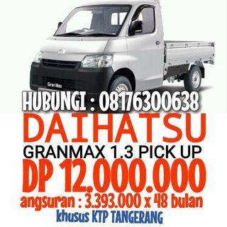 Daihatsu GRANMAX 1.3 pick up ( DP 12JUTA ) TANGERANG