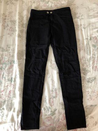 Black long trousers