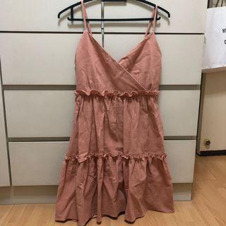 Pink pastel dress