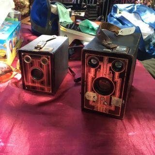 1920年 美國 brownie junior box camera 古董相機