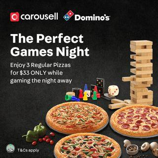 Carousell x Domino's: The Perfect Games Night