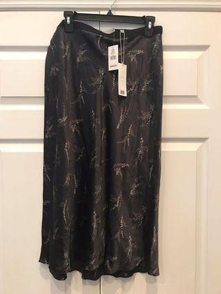 Vince Silk Skirt (new, tags on)