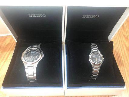 2pcs 💯ORIGINAL Seiko watches
