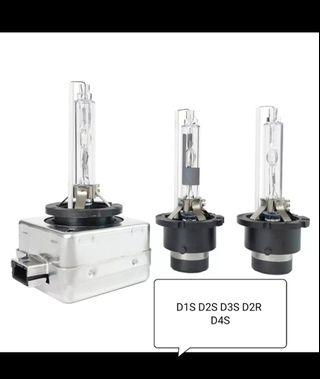 White 6000K Hid Xenon Headlight Bulb D1S D2S D3S D2R D4S direct replacement not led