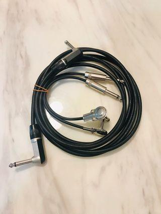 Guitar cable & Patch cables