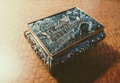急賣! 鄉村復古珠寶飾品收納盒