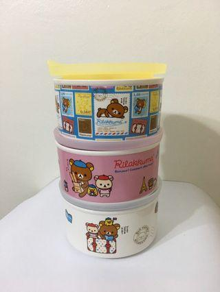 Rilakkuma Microwaveable Porcelain Bowl