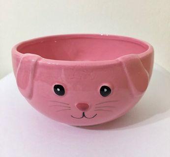 Rabbit and Owl Porcelain Bowl Set