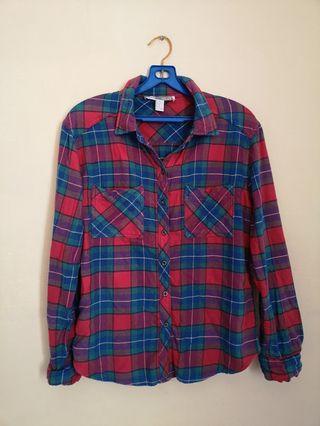 Forever 21 Checkered Shirt