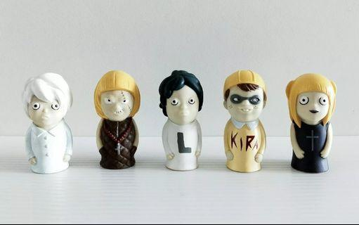 Death Note Nate River, Near Nia Finger Puppets L Kira