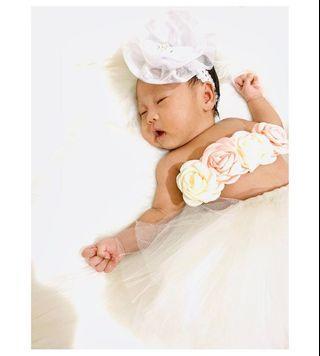 kostum properti fotografi bayi (new born)