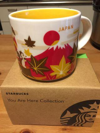 Starbucks Mug Japan  Limited  Edition Autumn Series.