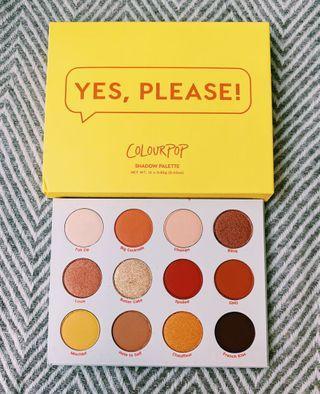 ColourPop- Yes, Please! Palette