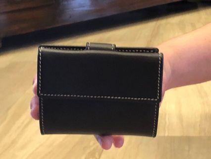 Negro colour wallet unisex